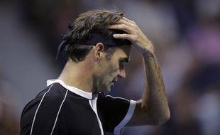 Roger Federer n'avait pas tous ses moyens face à Dimitrov en quarts de finale de l'US Open 2019.