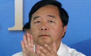 L'ancien maire de Nankin, Ji Jianye, en 2013 lors d'une cérémonie