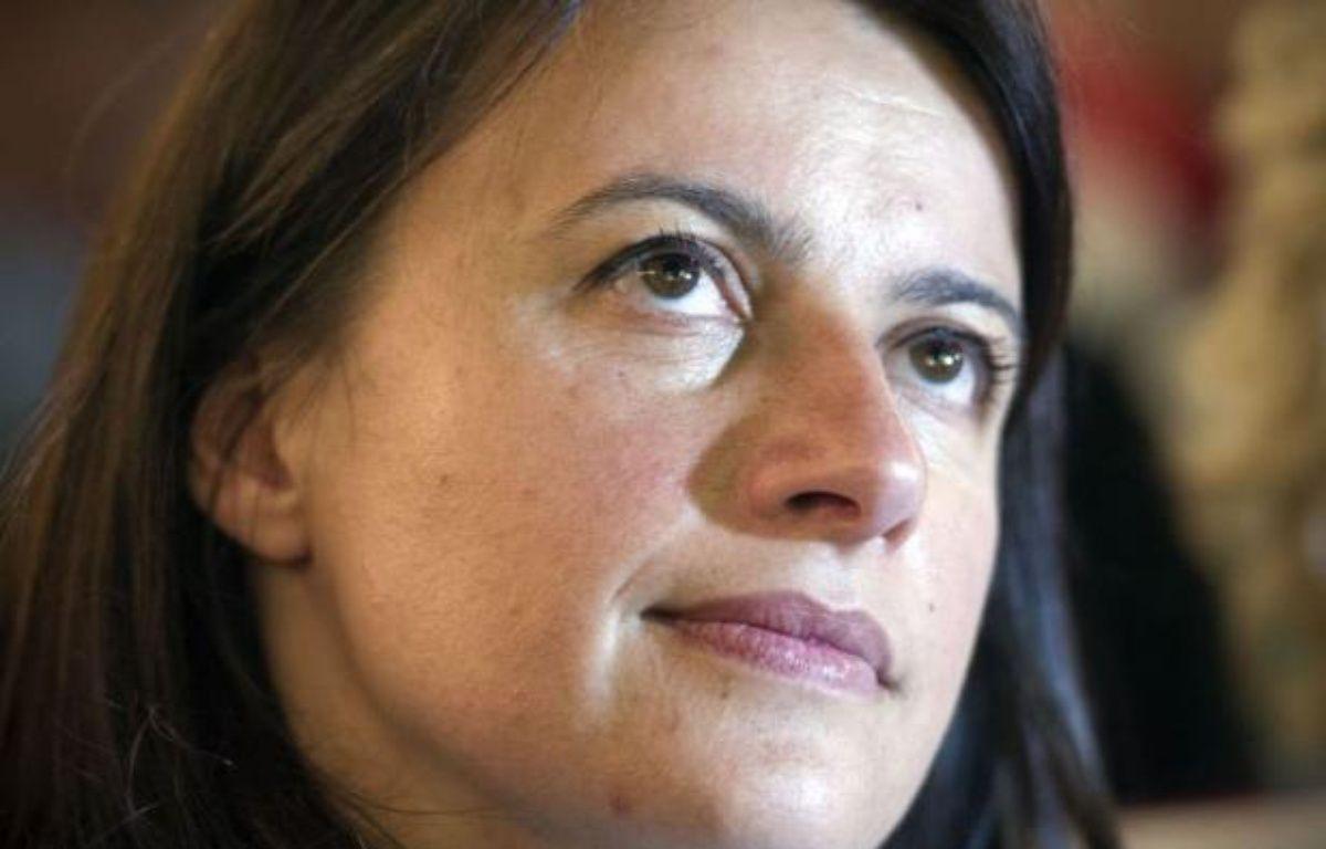 """Toujours secrétaire nationale d'Europe Ecologie-Les Verts (EELV), Mme Duflot n'a fait que rappeler sur RMC et BFMTV la """"position"""" de son parti depuis """"très longtemps"""", à savoir la dépénalisation de cette drogue douce, plus consommée en France que dans la plupart des autres pays européens. – Lionel Bonaventure afp.com"""