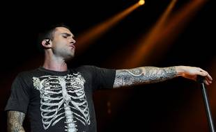 Adam Levine, le chanteur du groupe californien Maroon 5.
