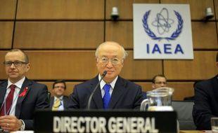 Yukiya Amano, directeur général de l'AIEA au siège à Vienne, le 29 novembre 2013