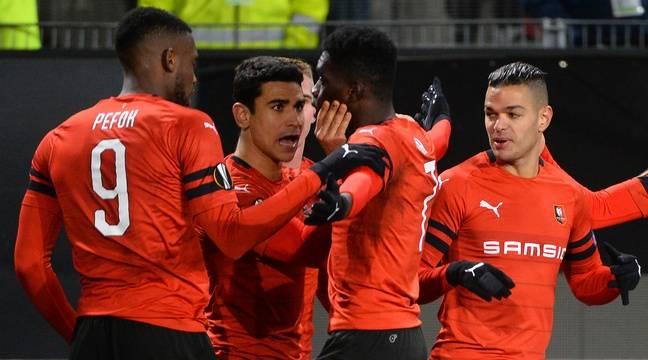 Stade Rennais-Astana: Ismaïla Sarr frappe deux fois et Rennes écrit une page de son histoire