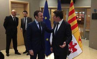 Le 1er avril dernier, Christian Estrosi a rencontré Emmanuel Macron à Marseille.