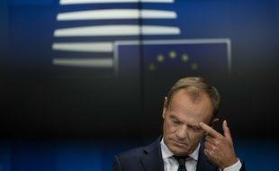 Donald Tusk, le président du Conseil européen.