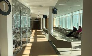 L'étage consacré à la chirurgie oculaire, clinique Jules-Verne à Nantes.