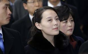 Kim Yo Jong, petite sœur de Kim Jong Un, à Pyeongchang  le 9 février 2017 pour les JO d'hiver.