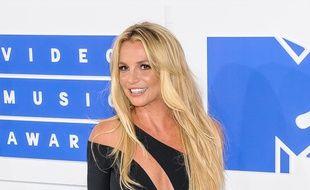 La chanteuse Britney Spears à New York