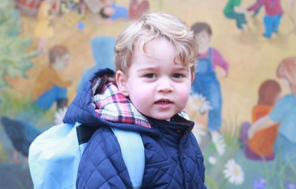 Capture d'une photo du Prince George publiée sur Instagram le 6 janvier 2015. – Kensington Royal via Instagram