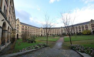 L'intérieur de la prison des femmes de Rennes.