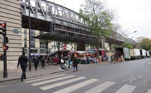 Le marché de Barbès ce mercredi matin