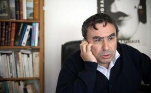 L'historien Benjamin Stora à Asnières-sur-Seine le 6 mai 2010