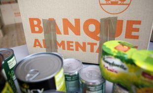 Des colis de la Banque alimentaire le 28 novembre 2014