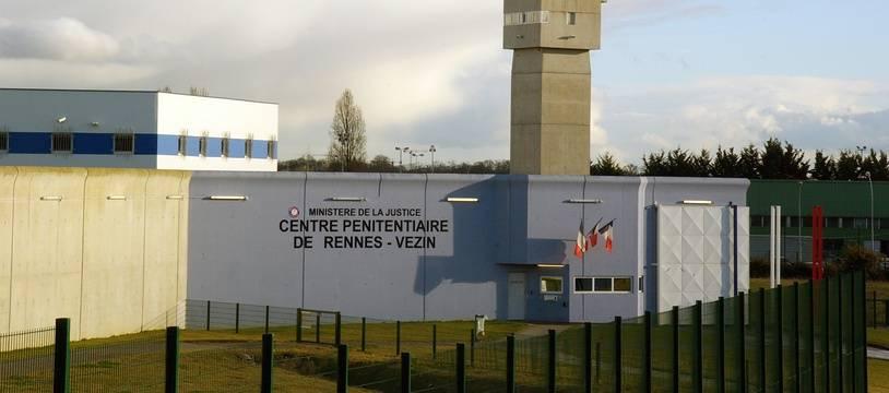 Le centre pénitentiaire des hommes à Vezin-le-Coquet, commune limitrophe de Rennes.