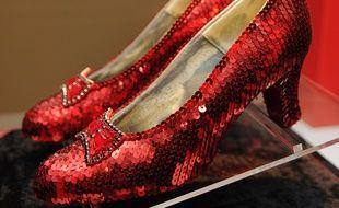 Les fameux escarpins portés par Judy Garland.