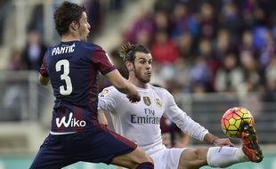 Gareth Bale lors du match entre Eibar et le Real Madrid le 29 novembre 2015.