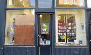 La librairie Meura de Lille a été vandalisées à deux reprises cette semaine