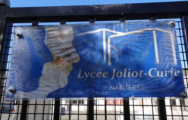 Le lycée Joliot-Curie, à Nanterre, est considéré comme ZEP (zone d'éducation prioritaire)