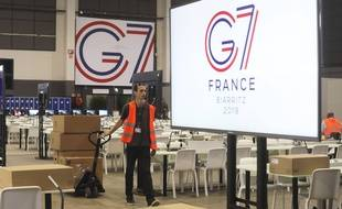 Le sommet du G7 se tient à partir de samedi à Biarritz.