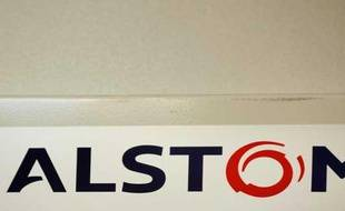 Le logo du groupe Alstom.