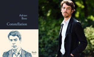 Adrien Bosc publie Constellation (Stock), son premier roman.