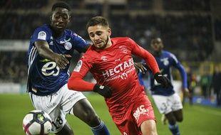 Strasbourg-Nîmes, football, Ligue 1