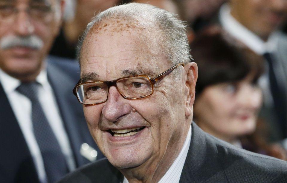 POLITIQUE › Jacques Chirac «dans une forme aussi bonne que possible», selon Villepin … 20 MINUTES