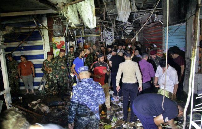 648x415 une bombe a explose le 19 juillet 2021 sur un marche de sadr city un quartier chiite de l est de