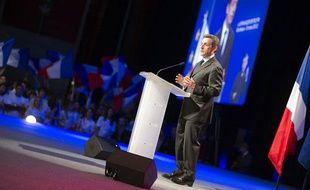 Nicolas Sarkozy lors d'un meeting de campagne à Bordeaux, le 3 mars 2012.