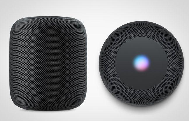 20 Minutes, Dévoilée en juin, l'enceinte HomePod d'Apple ne sortira que début 2018