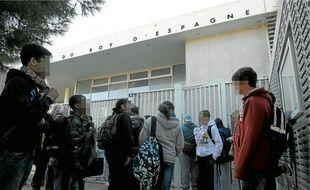 L'établissement de 498 élèves est considéré comme un collège calme.
