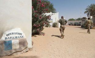 Un militaire de la force Barkhane au Tchad en mars 2017 (illustration).