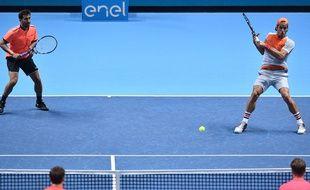 On a vu du beau tennis dans ce match entre les Lopez et Peers-Kontinen le 14 novembre 2016.