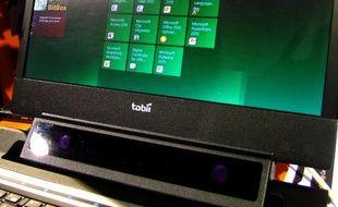 Le prototype de la société Tobii permet de contrôler Windows 8 avec ses yeux.
