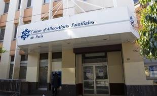 Une caisse d'allocations familiales (CAF) à Paris, en 2013.