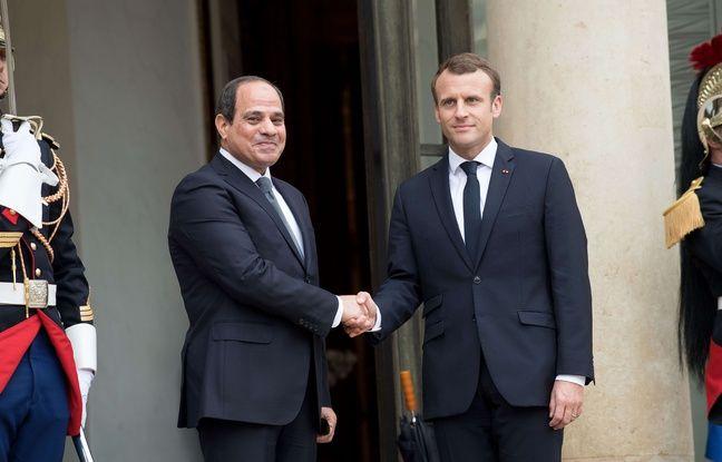 nouvel ordre mondial | Droits de l'Homme: Macron ne veut «pas donner de leçons» au président égyptien