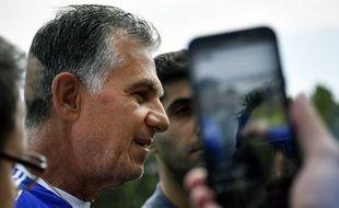 Carlos Queiroz, le sélectionneur de l'Iran.