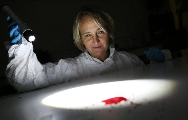 Céline Nicloux étudie depuis 18 ans les traces de sang laissés sur les scènes de crime