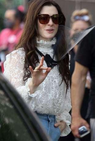 Anne Hathaway, le 8 juin 2021, à New York.