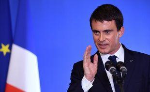 Manuel Valls, à Nantes, le 1er décembre 2014.