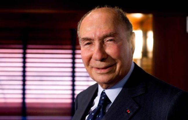 L'industriel Serge Dassault le 22 mars 2012