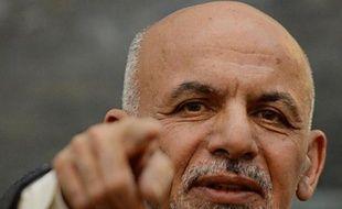 Le président afghan Ashraf Ghani, le 6 novembre 2014 à Kaboul