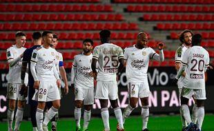Jean-Louis Gasset a apprécié l'état d'esprit de son équipe face à Rennes vendredi soir.