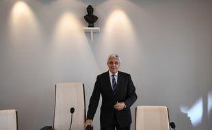Gilles Bachelier, président de la cour administrative d'appel, a lu la décision des juges ce lundi