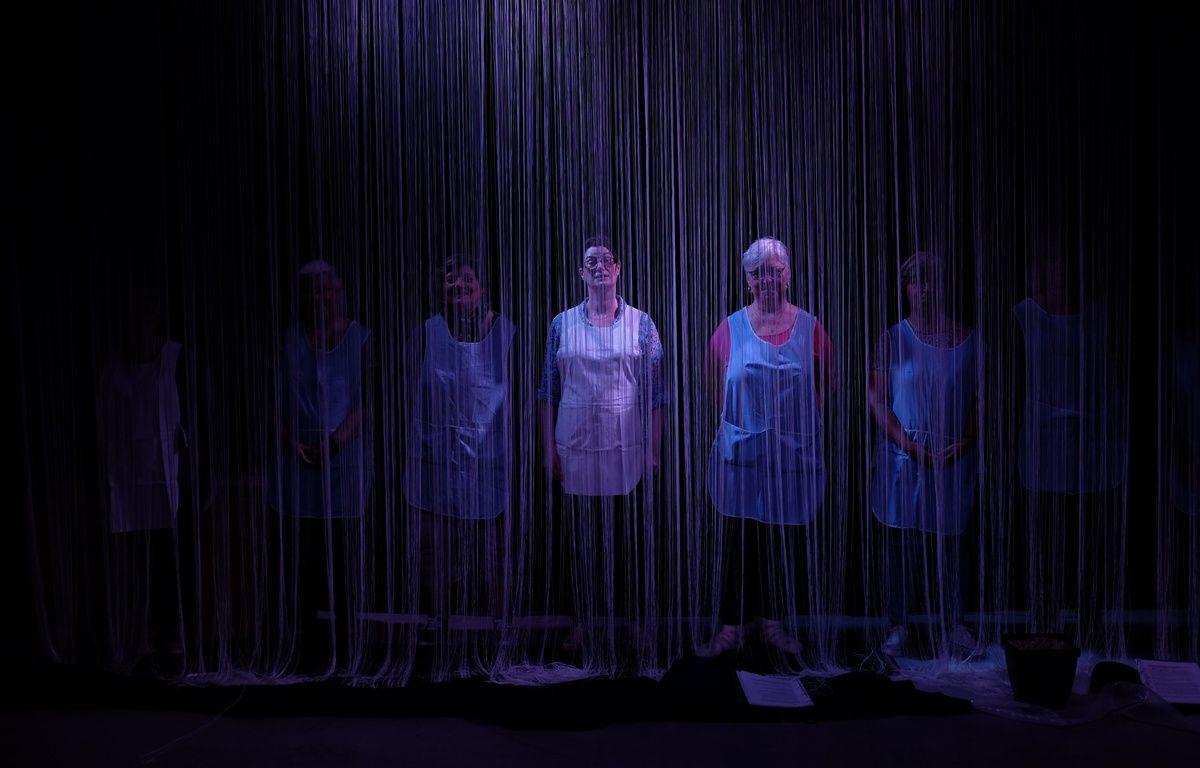 Les anciennes salariées de Samsonite n'avaient jamais fait de théâtre avant – Hélène Desplanques