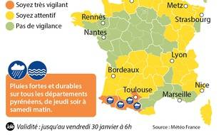Vigilance orange du 29 janvier 2015.