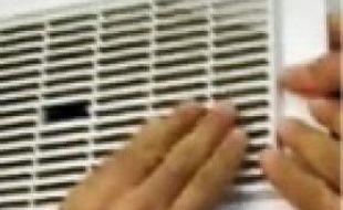 Une caméra était cachée dans la ventilation.
