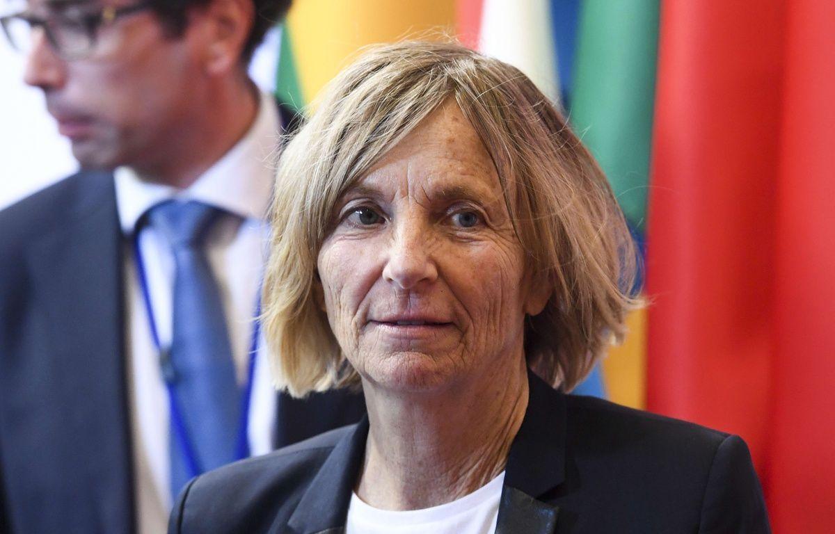 Marielle de Sarnez, ministre des Affaires européennes, à Bruxelles le 22 mai 2017.  – Sierakowski/ISOPIX/SIPA