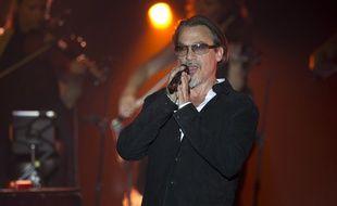 Florent Pagny en concert à Monaco le 6 août.