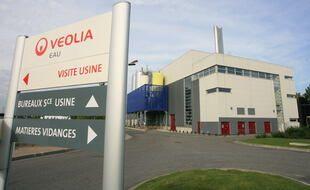 Une usine de traitement des eaux de Veolia (illustration).