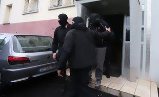 Coup de filet anti-djihadiste mardi 13 mai 2014 à Strasbourg.